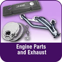 Engine Parts and Exhaust