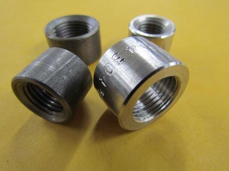Weld-In Half Couplings