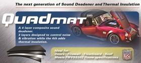 Sound Deadening and Heat Shield