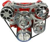 A/C, Alternator and Power Steering Brackets / Pulleys