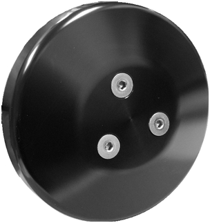 Black Anodized Front Runner Clutch Cover