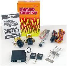 Spal Shaved Door Kit