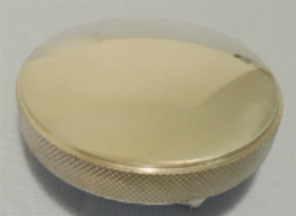 16lb Polished Aluminum Radiator Cap