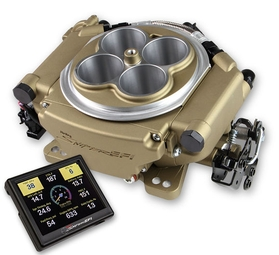 Holley Sniper 4BBL EFI Kits (Classic Gold Finish)