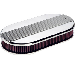 Dual Quad Ribbed Air Cleaner