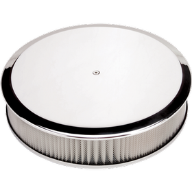 Round Smooth Polished Air Cleaner
