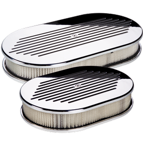 Oval Ball Milled Air Cleaner