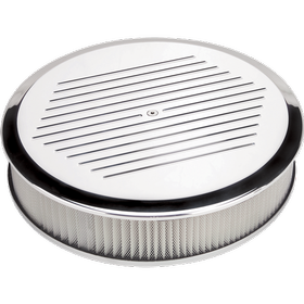 Round Ball Milled Air Cleaner